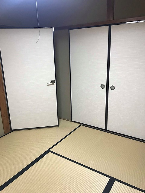 ふすま(襖)の張替え新調もお任せ。(大阪府大東市)家庭用国産畳専門店うえむら畳5