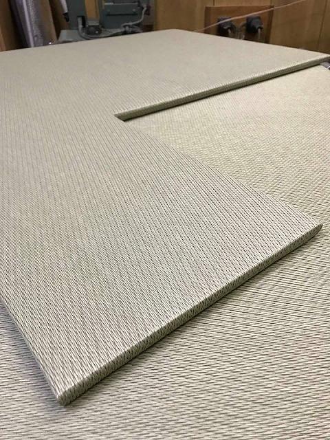 極薄縁無し琉球畳:タイルカーペットからニッポンの床に模様替え:大阪のイマドキの畳屋さんうえむら畳10
