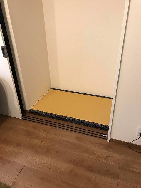 【仏壇用畳東大阪】亡きご主人さまへの想いのこもったご依頼。大阪大東市家庭用国産畳専門店うえむら畳5