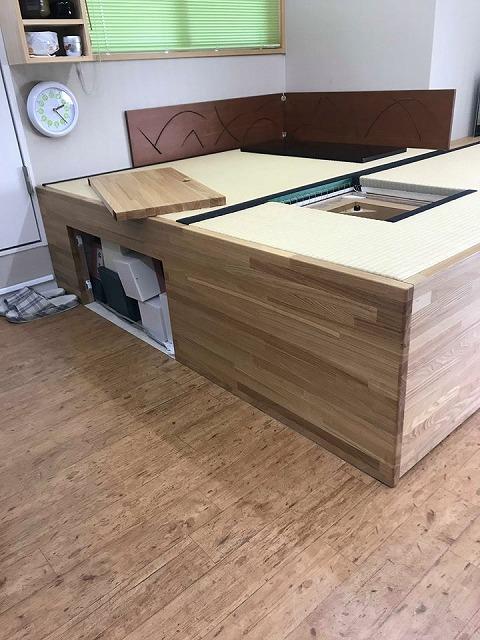 オーダーメイドユニット家具を使いやすくリメイク?大阪府大東市イマドキの畳屋さんうえむら畳1