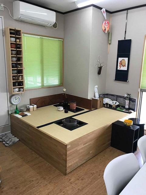 オーダーメイドユニット家具を使いやすくリメイク?大阪府大東市イマドキの畳屋さんうえむら畳9