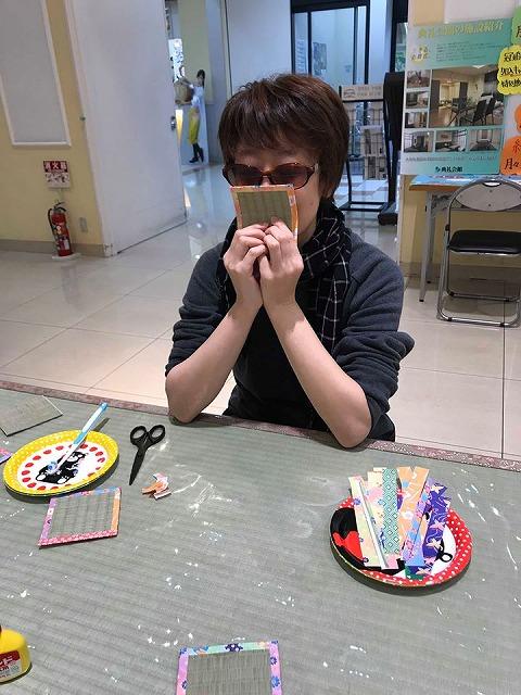 京阪百貨店すのみのどう店内開催『大東の魅力発見展』に出店しましたッ!!大阪大東市家庭用国産畳専門店うえむら畳8