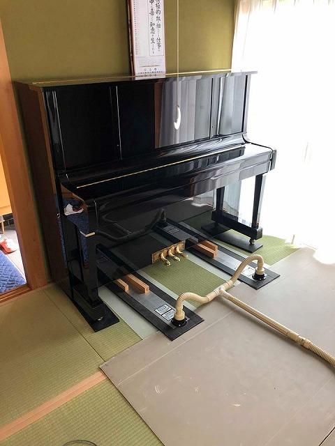 えっ!うそっ!簡単!畳替えのピアノ移動も安心楽々お任せください!大阪府大東市家庭用国産畳専門店イマドキの畳屋さんうえむら畳1