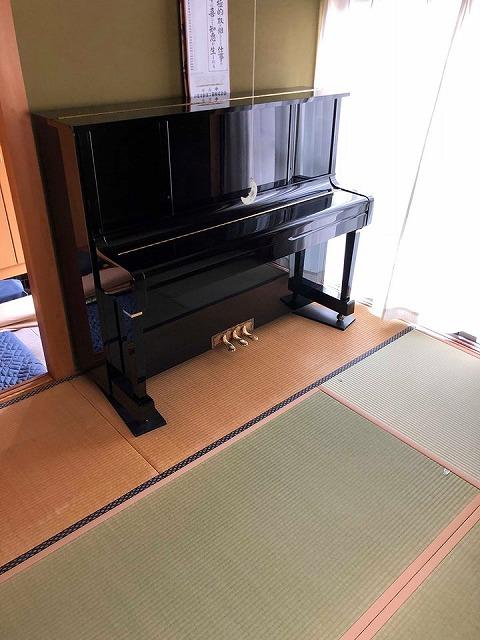 えっ!うそっ!簡単!畳替えのピアノ移動も安心楽々お任せください!大阪府大東市家庭用国産畳専門店イマドキの畳屋さんうえむら畳3