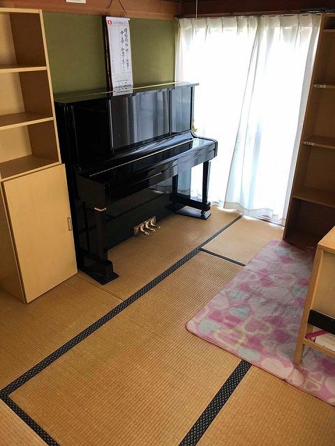 えっ!うそっ!簡単!畳替えのピアノ移動も安心楽々お任せください!大阪府大東市家庭用国産畳専門店イマドキの畳屋さんうえむら畳4