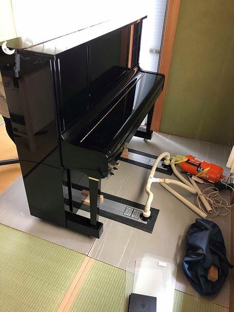 えっ!うそっ!簡単!畳替えのピアノ移動も安心楽々お任せください!大阪府大東市家庭用国産畳専門店イマドキの畳屋さんうえむら畳5