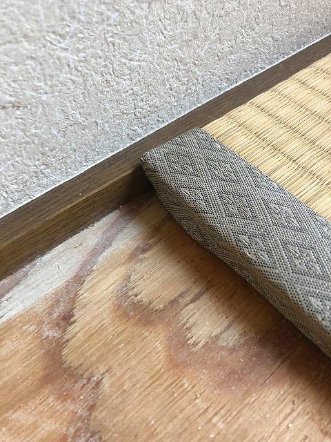 極薄畳の表替え(おもてがえ)土台はシッカリしてんねんッ(大阪府大東市)大阪府大東市家庭用国産畳専門店イマドキの畳屋さんうえむら畳5