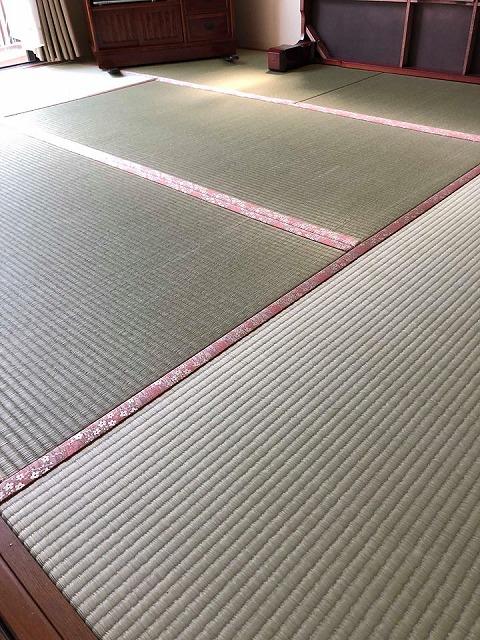 極薄畳の表替え(おもてがえ)土台はシッカリしてんねんッ(大阪府大東市)大阪府大東市家庭用国産畳専門店イマドキの畳屋さんうえむら畳6