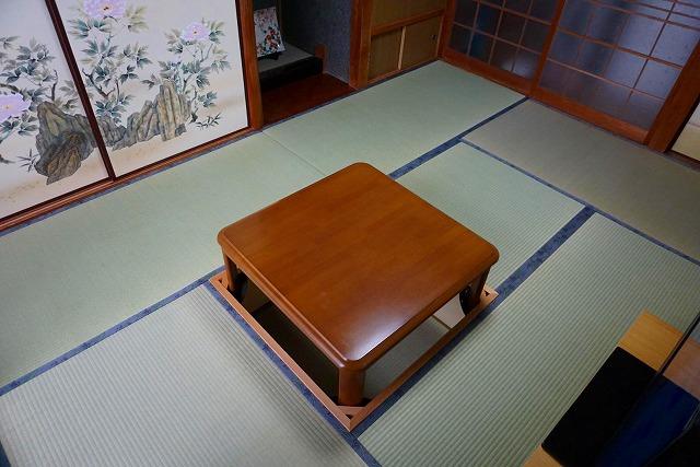 幸せが必ず来る…。畳縁花言葉がステキな畳替えのご依頼。(大阪府東大阪6畳間)大阪府大東市いまどきの畳屋さん4