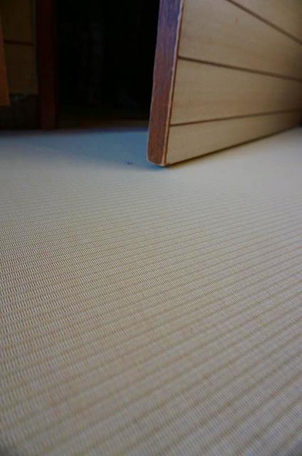 〜新たな生命を授かり洋間フローリング畳化計画〜洋間から畳フローリング用畳工事不要畳大阪畳うえむら畳国産畳7
