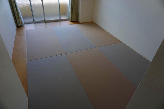 フローリングでは無いシニアシルバー世代の最適なフロア畳に模様替え(大阪府大東市6帖間)5