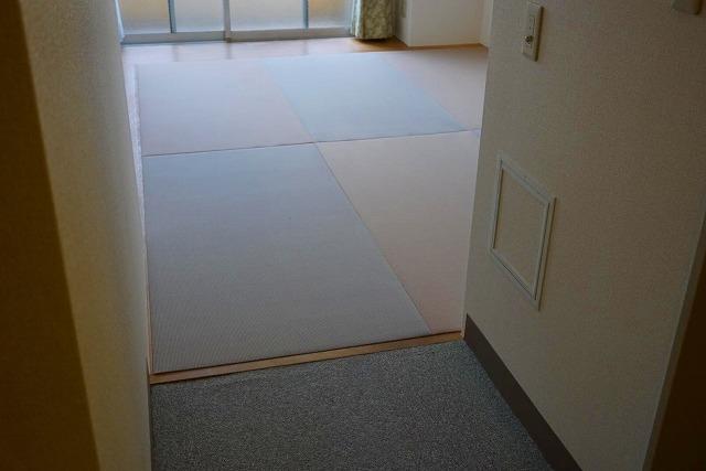 フローリングでは無いシニアシルバー世代の最適なフロア畳に模様替え(大阪府大東市6帖間)7