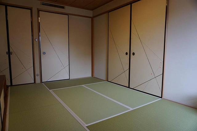 【ペット用和紙畳?】わんちゃんのオシッコでシミになった和紙畳から和紙畳へ?大阪府大東市イマドキの畳屋さん2