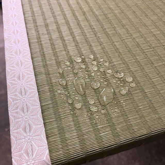 【ペット用和紙畳?】わんちゃんのオシッコでシミになった和紙畳から和紙畳へ?大阪府大東市イマドキの畳屋さん3