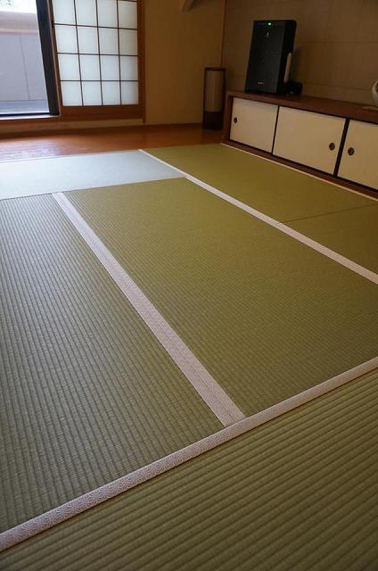 【ペット用和紙畳?】わんちゃんのオシッコでシミになった和紙畳から和紙畳へ?大阪府大東市イマドキの畳屋さん6
