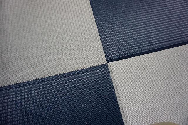 〜カラー琉球畳とカラー襖のコーディネイトでステキに模様替え〜大阪府大東市イマドキの畳屋さんうえむら畳6