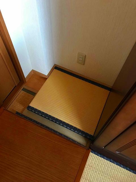 【仏壇用畳】ご主人の想う奥様からのご依頼・・・。大阪府大東市イマドキの畳屋さんうえむら畳1