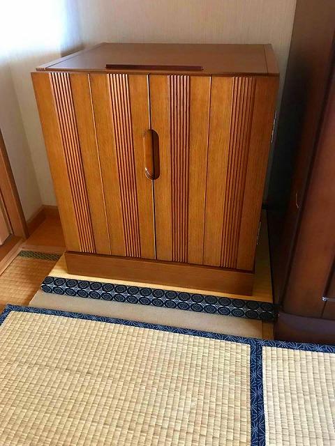 【仏壇用畳】ご主人の想う奥様からのご依頼・・・。大阪府大東市イマドキの畳屋さんうえむら畳2