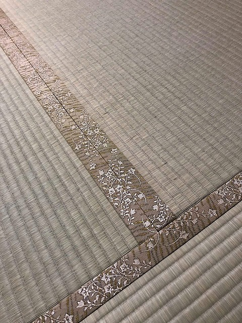 高級板入れ天然稲わら畳(棕櫚裏・丹波裏)板締め&表替えのご依頼。家庭用国産畳専門店うえむら畳8