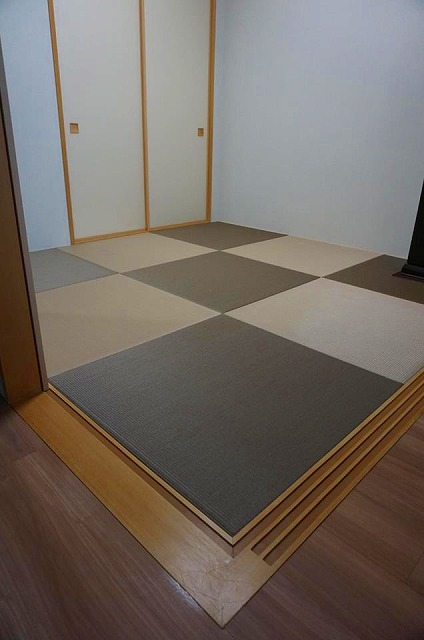 【ペット用カラー琉球畳】耐水素材畳でペットの粗相や汚れををカイゼン。大阪府大東市イマドキの畳屋さんうえむら畳4