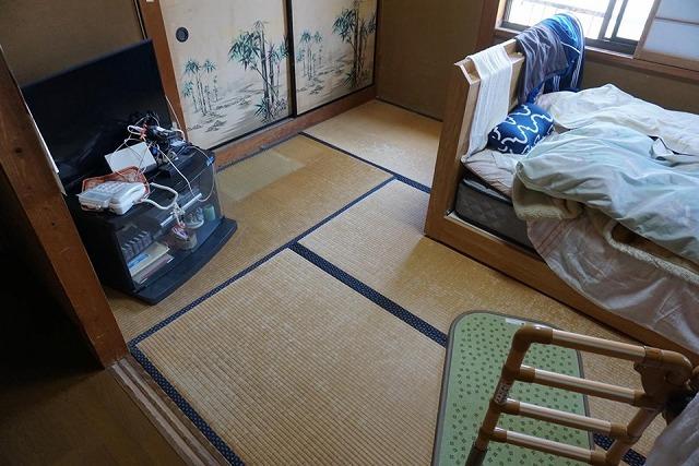 """1介護保険利用""""柔らかく滑らない畳""""へ住宅改修工事で快適介護暮らし。大阪大東市イマドキの畳屋さんうえむら畳"""