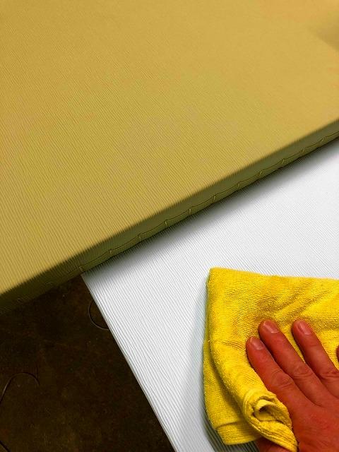 【ペット用縁無し琉球畳】わんちゃんの粗相や嘔吐の汚れを専用畳でカンタン解決ッ!!大阪府大東市イマドキの畳屋さんうえむら畳6