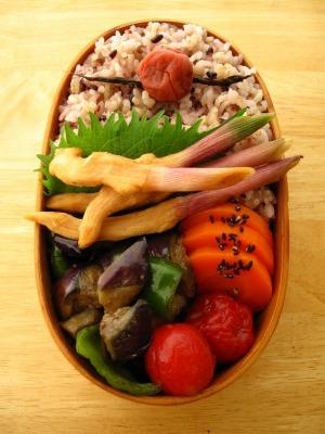 葉生姜の味噌漬け