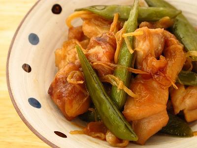 鶏もも生姜のさっぱり煮