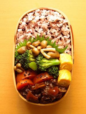 ブロッコリーと舞茸の豆板醤炒め