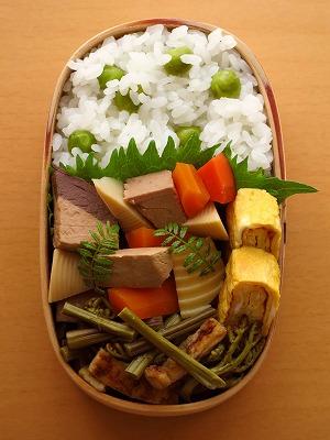 鰹と筍の煮物