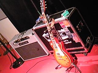 ステージの再現。