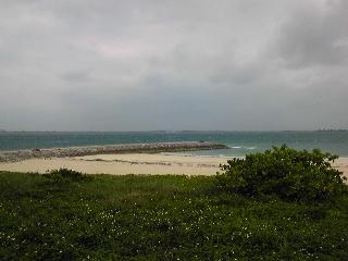 浜比嘉島から。