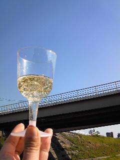 青空に乾杯。