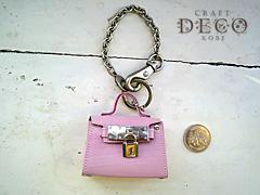 mini mini ケリーバッグ ピンク