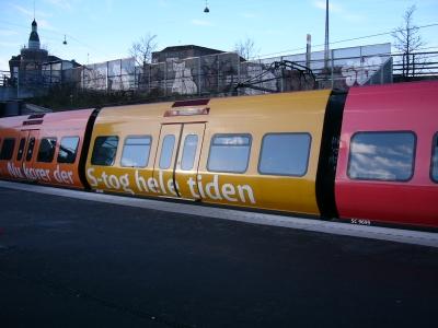デンマーク列車