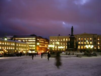 ヘルシンキ夜景