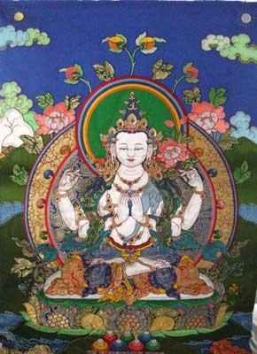 「チベット仏教美術・刺繍アップリケ」 | サフランの道