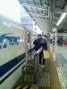 名古屋へ向かう新幹線
