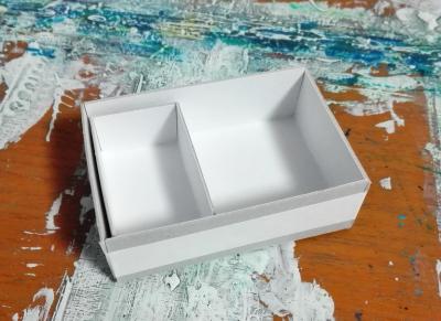 小さい手作りの箱二個