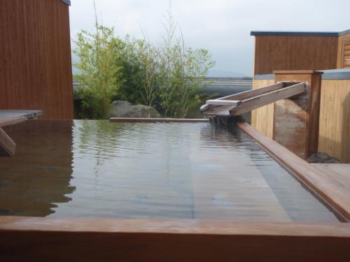 玉の湯貸切露天風呂