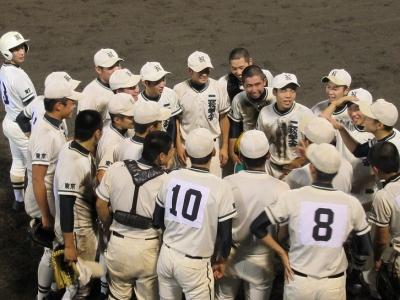 学舎 高校 野球 二 部 松
