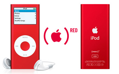 iPod nano (PRODUCT)RED