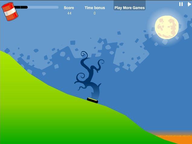 【アクション】「Oil Worm」毛虫を動かして敵や障害を避けるゲーム