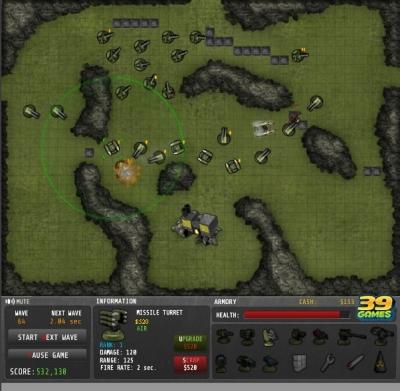 「Command Grid」砲台を設置して敵を迎撃