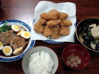 農家の夕食