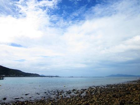 高知県の竜ヶ浜の海の写真