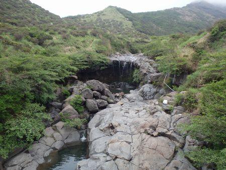 熊本県の仙酔峡へ、ミヤマキリシマを見にいきました
