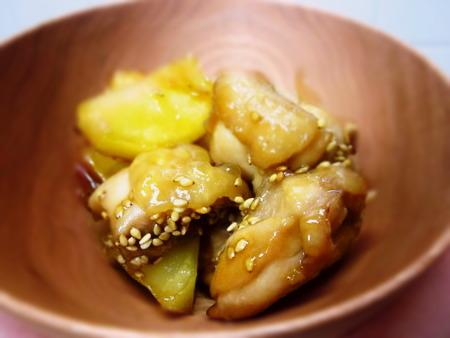 鶏肉とじゃが芋のほっくり煮