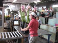 桐生総合園芸市場の競り
