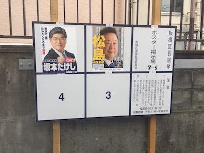 板橋区長選挙